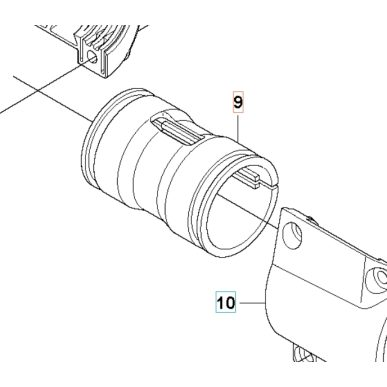 Antivibračný element držiaka rukoväte pre Husqvarna 535RXT