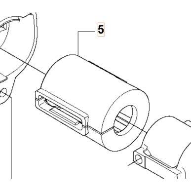 Antivibračný element rúry náhonu pre Husqvarna 335RX