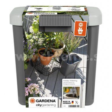 Automatické zavlažovanie rastlín počas dovolenky, Gardena