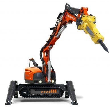 Husqvarna DXR 300 - demolačný robot