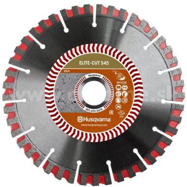 Husqvarna ELITE-CUT S45 - profesionálny diamantový kotúč na rezanie betónu