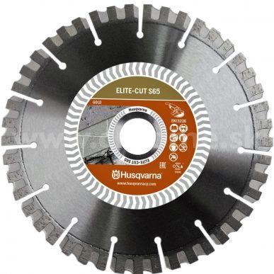 Husqvarna ELITE-CUT S65 - profesionálny diamantový kotúč na rezanie asfaltu a betónu
