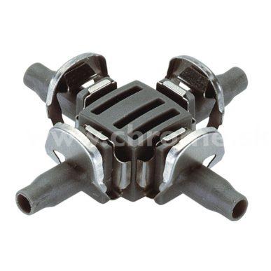 """Krížový kus 4.6 mm (3/16"""") Gardena Micro-Drip, 10 ks"""