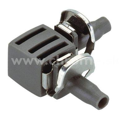 "L-kus 4.6 mm (3/16"") Gardena Micro-Drip, 10 ks"