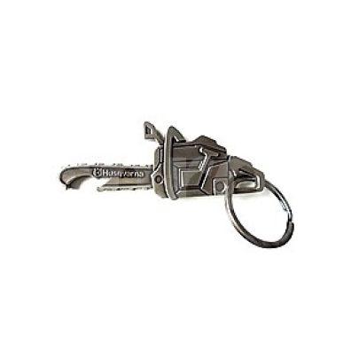 Prívesok na kľúče píla Husqvarna s otváračom na fľaše